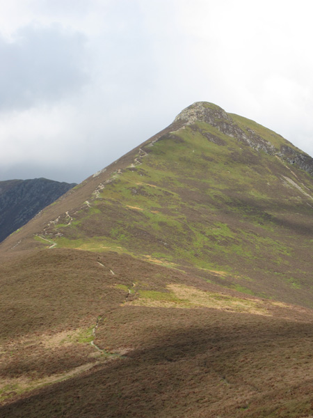 Causey Pike from Rowling End