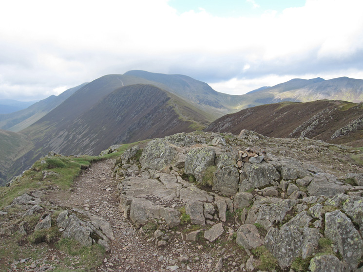 Causey Pike's summit