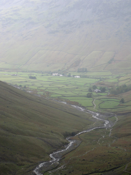 Zooming in on Wasdale Head