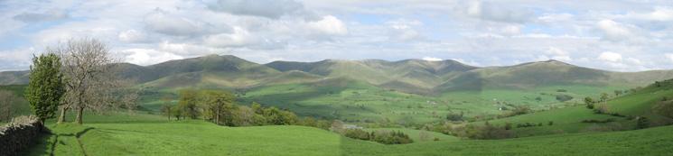 Howgill panorama
