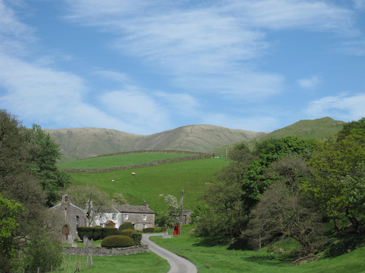 White Fell Head from Howgill Church