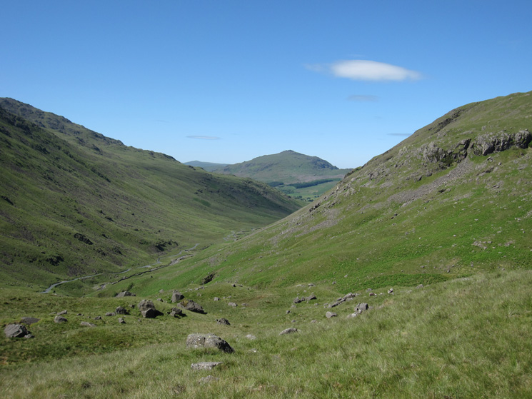 Wrynose Bottom  and Harter Fell
