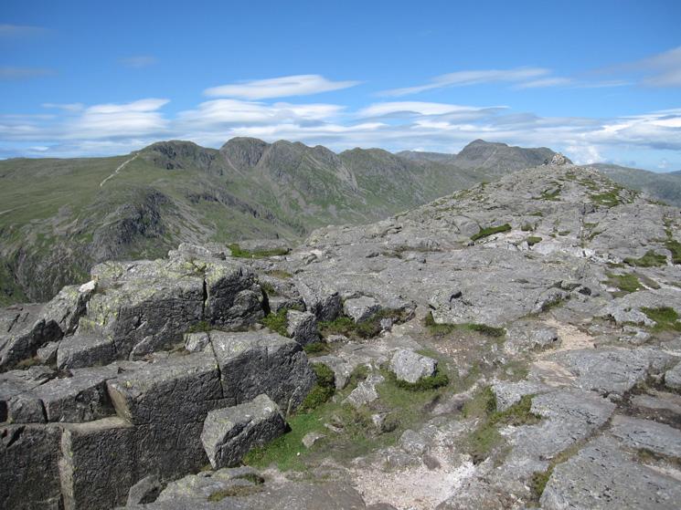 Pike o'Blisco's summit