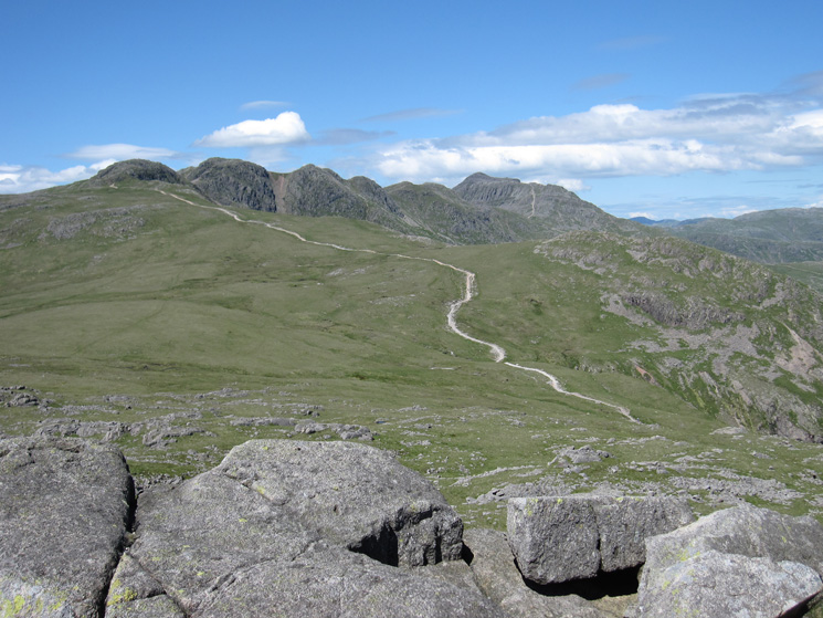The motorway to Crinkle Crags