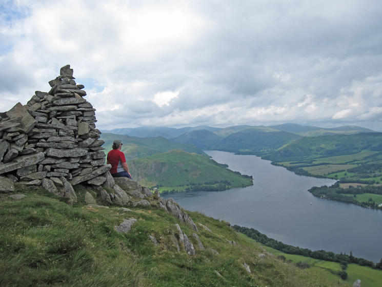 Ullswater from The Beacon, Arthur's Pike