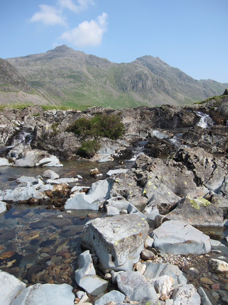 Scafell Pike and Ill Crag