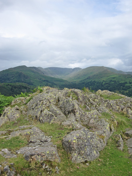The Fairfield Horseshoe from Todd Crag