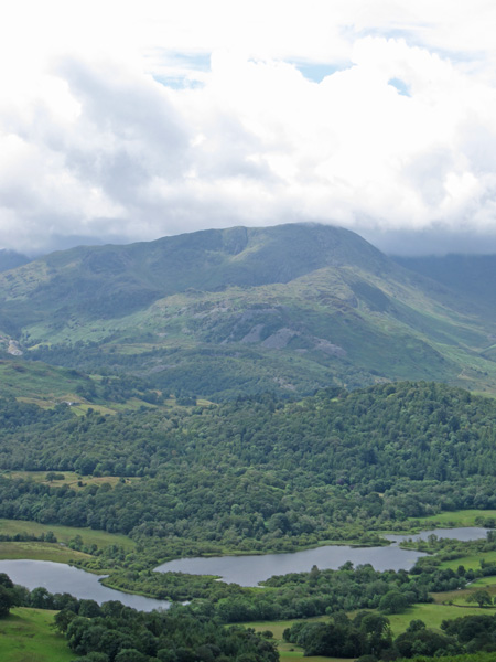 Over Elter Water to Wetherlam