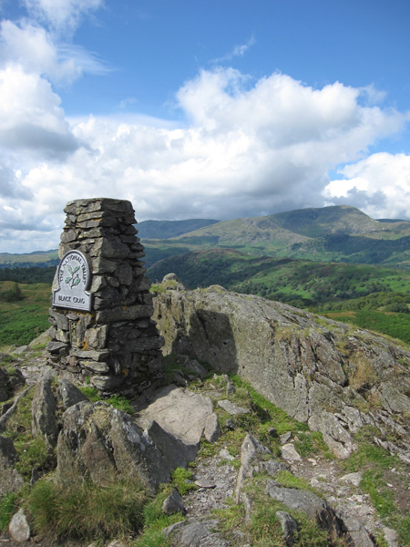 Coniston Old Man and Wetherlam from Black Crag