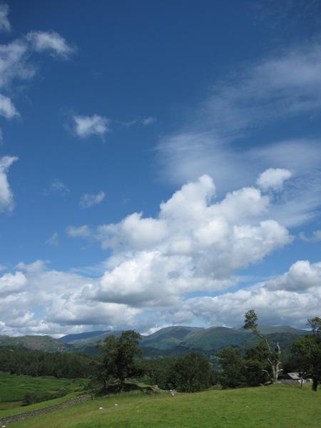 Skyscape above Fairfield