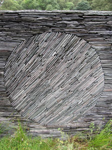 Part of Andy Goldsworthy's Tilberthwaite Touchstone Fold