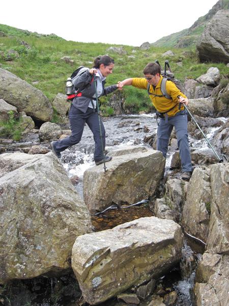 A helping hand across Crook Beck