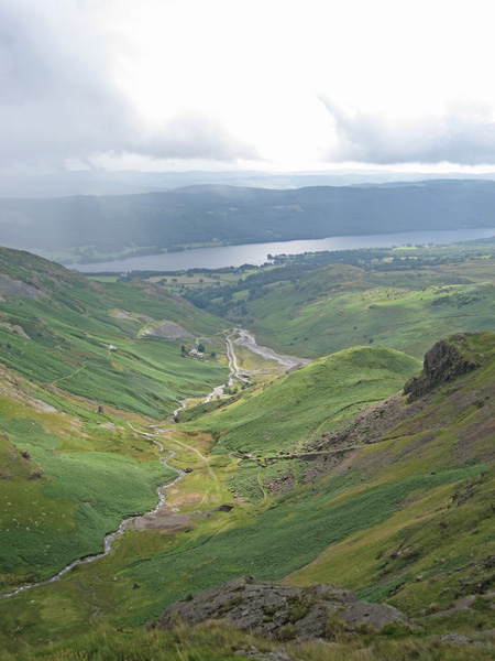 Coppermines Valley and Coniston Water