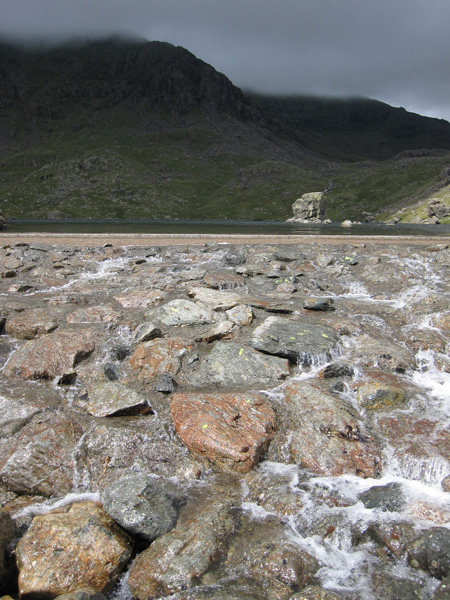 Levers Water's outflow