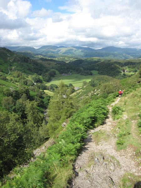 Descending by Tilberthwaite Gill