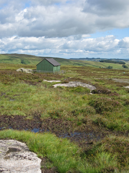 The Lunch House with Knipescar in the far distance