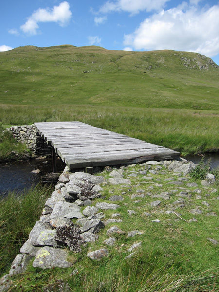 Bridge across Mosedale Beck
