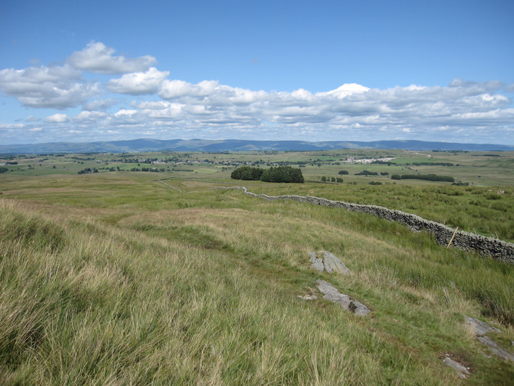 Looking across to the North Pennines