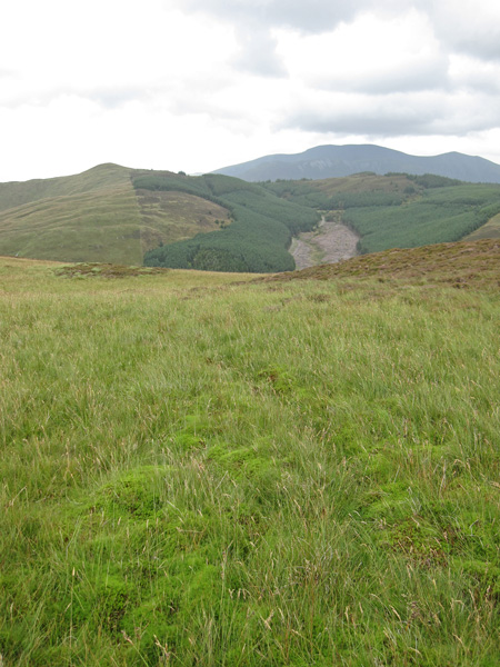 Lord's Seat and the Skiddaw fells
