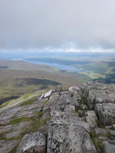 Loch Rannoch from Schiehallion summit
