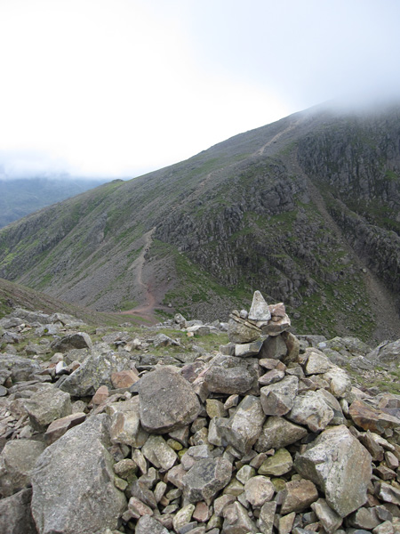 Windy Gap from Green Gable's summit