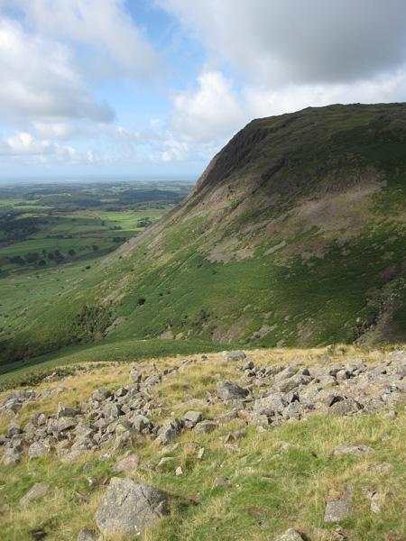 Buckbarrow from Middle Fell