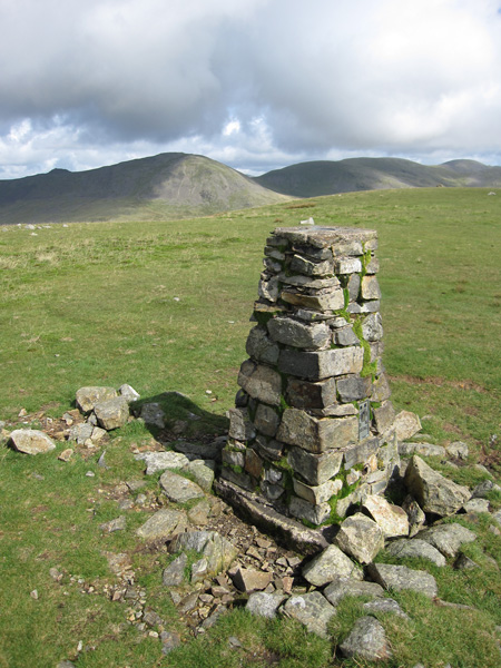 Haycock and Scoat Fell from Seatallan's summit