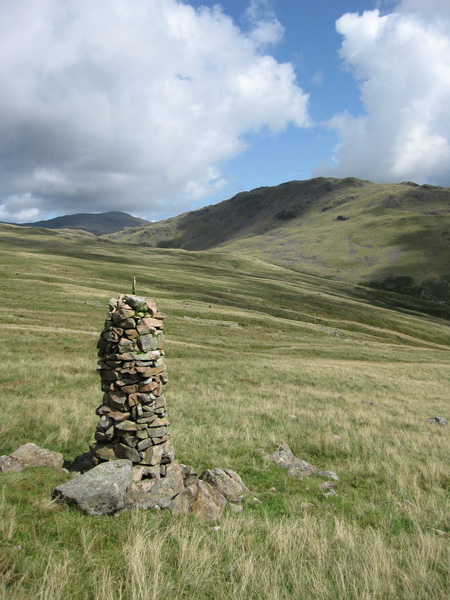 Middle Fell with Red Pike in the distance from Jos Naylor's cairn