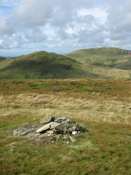 Hen Comb and Gavel Fell from Mellbreak's summit