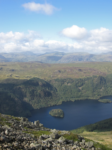 Hawes How Island on Thirlmere