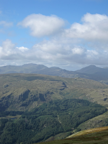 Scafell Pike and Great Gable