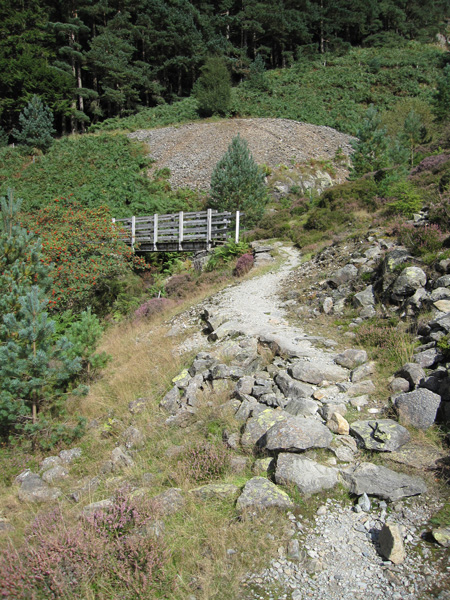 Bridge across Mines Gill