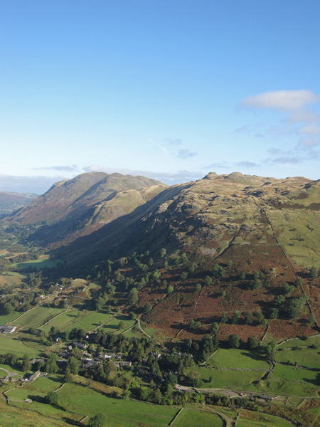 Place Fell and Angletarn Pikes with Hartsop below