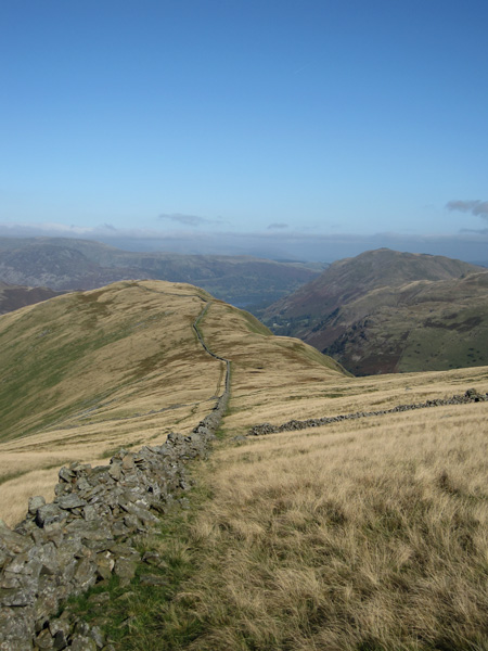 Looking back to Hartsop Dodd as we head for Caudale Moor