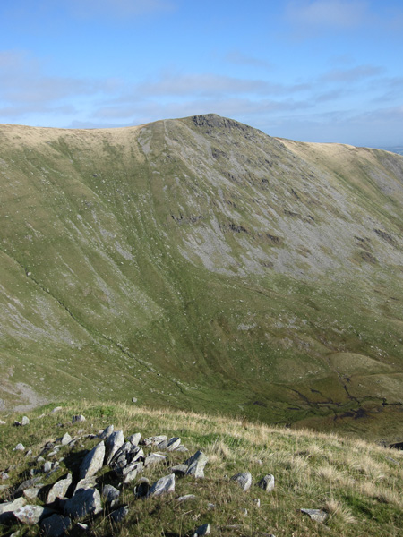 Kidsty Pike from the top of Short Stile