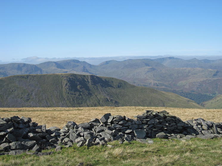 Gray Crag with the eastern fells beyond