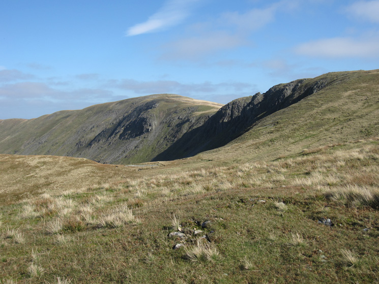 High Raise and Rampsgill Head from The Knott