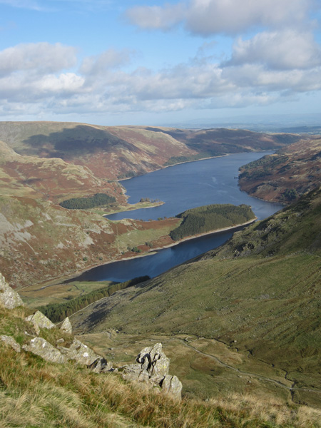 Haweswater from my route to Gatescarth Pass