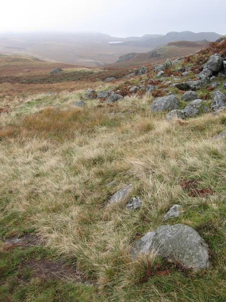 Low Birker Tarn in the distance