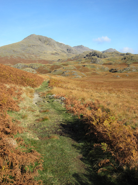 Scafell comes into view