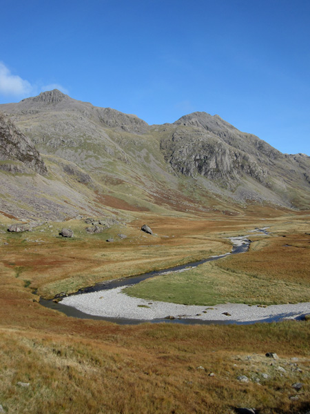 Scafell Pike, the Sampson's Stones and the Great Moss