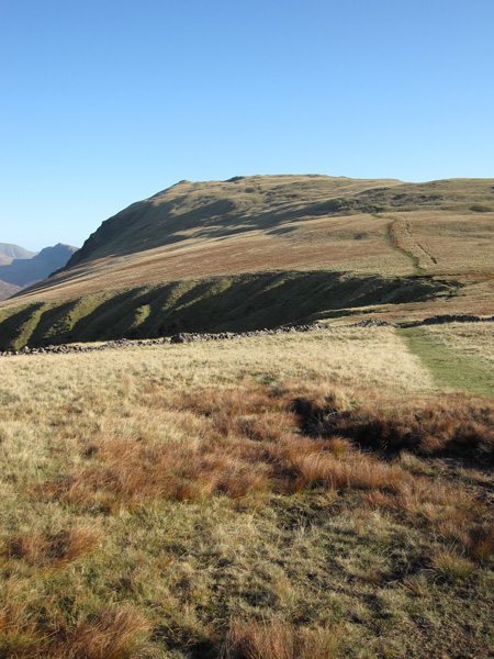 Whin Rigg from near the top of Greathall Gill