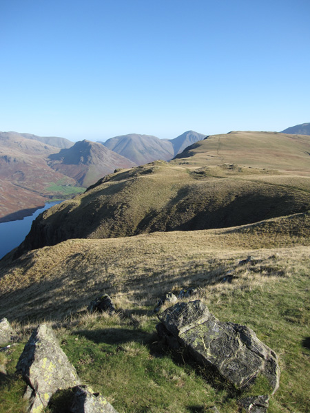 The top of The Screes from Whin Rigg