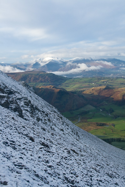 The north western fells from our ascent