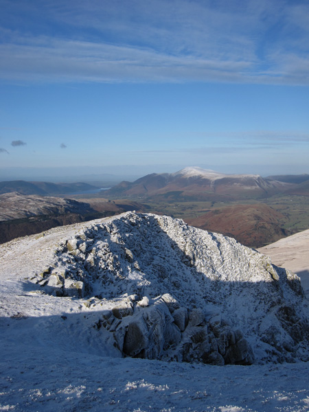 Skiddaw from Browncove Crags