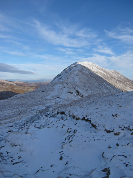 Saint Sunday Crag from Deepdale Hause