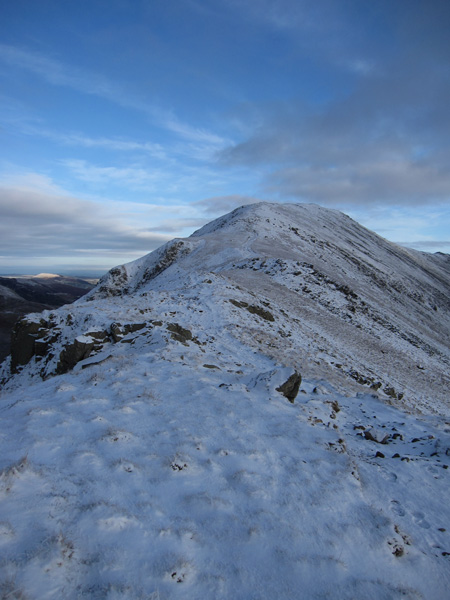 St Sunday Crag, the summit is still some way off