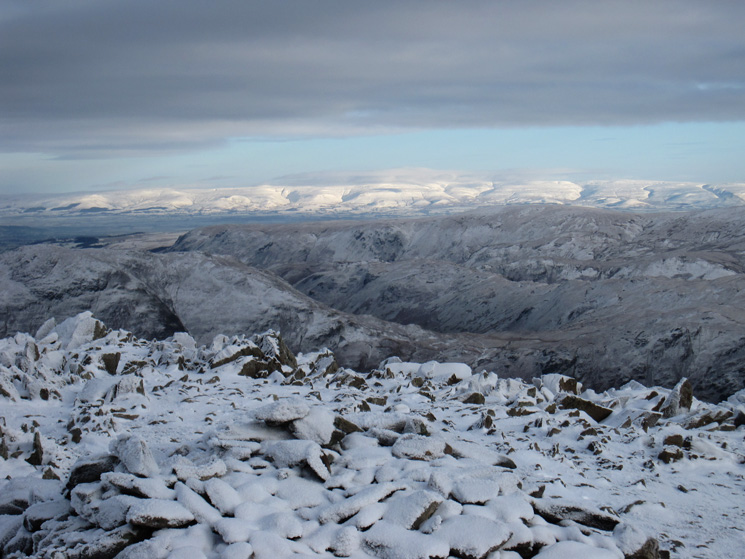 The North Pennines from St Sunday Crag's summit