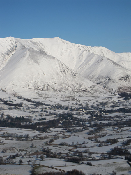 Blencathra above Threlkeld