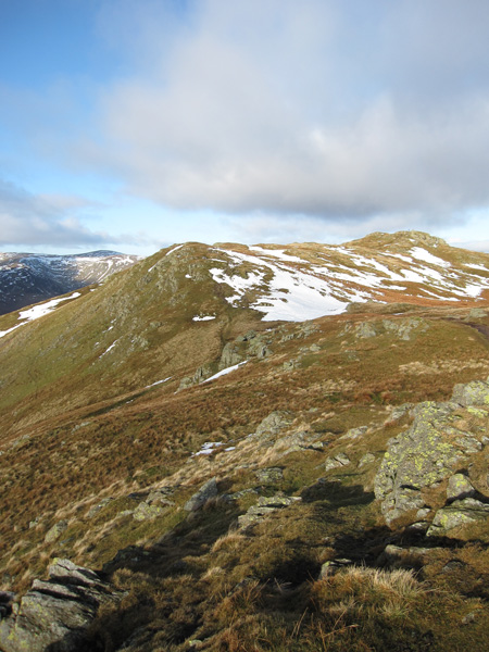 Place Fell's summit from Round How